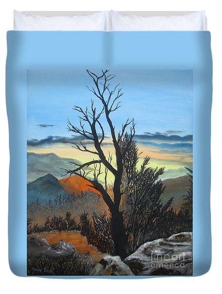 Camp Duvet Cover by Stuart Engel