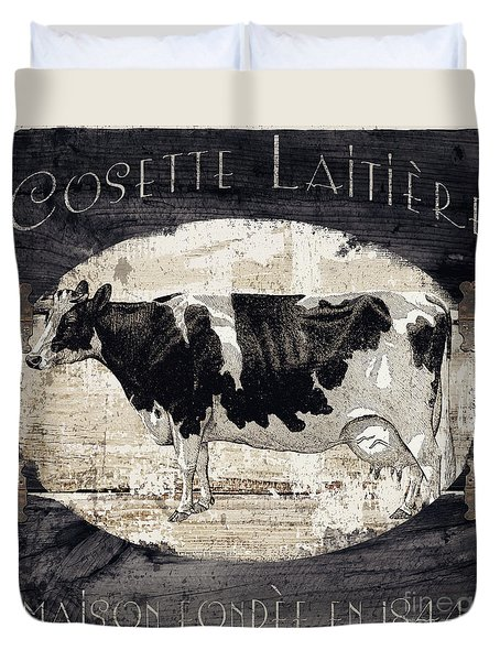 Campagne I French Cow Farm Duvet Cover
