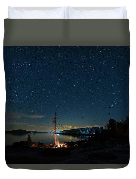 Campfire 1 Duvet Cover