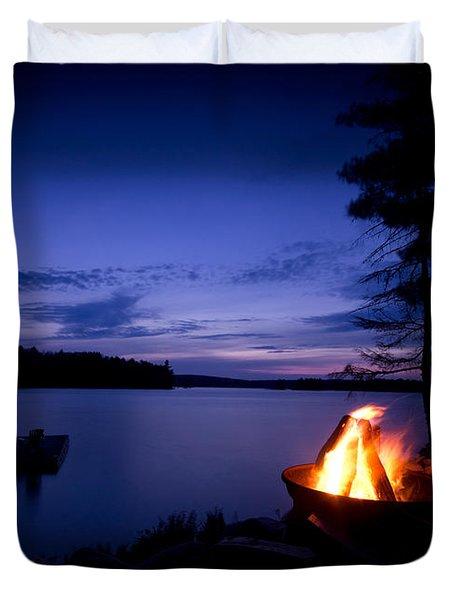 Campfire Duvet Cover