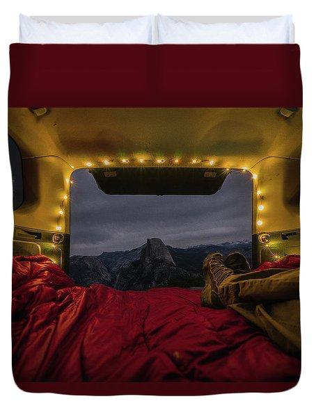 Camping Views Duvet Cover
