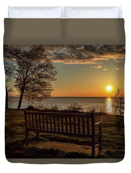 Campus Sunset Duvet Cover