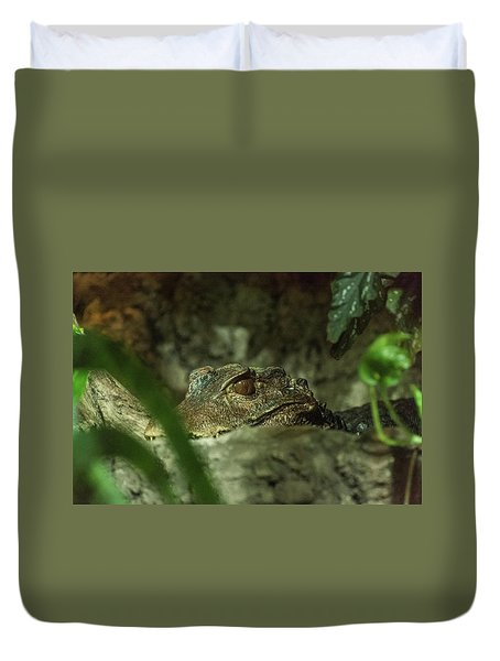 Can You See Me Duvet Cover
