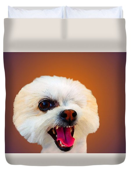 Can You See Me Now Duvet Cover by Mike Breau