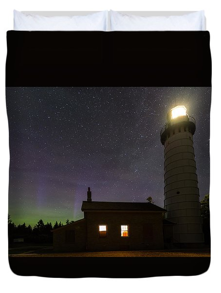 Cana Island Northern Lights Duvet Cover
