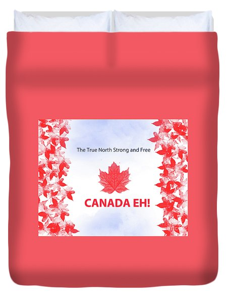 Canada Day 2016 Duvet Cover