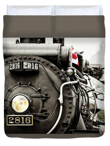 Canada Day Duvet Cover