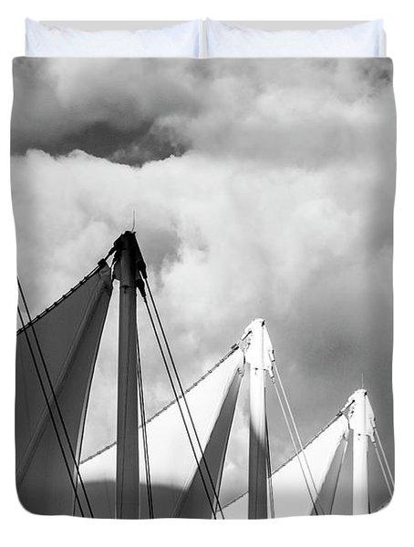 Canada Place Sails Duvet Cover