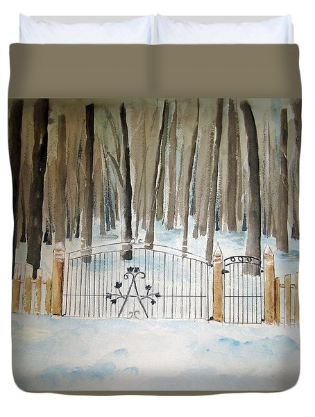 Canada The Grove  Duvet Cover