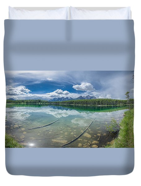 Canadian Beauty 2 Duvet Cover by Thomas Born