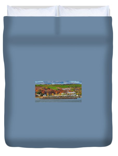 Canadian Colors Duvet Cover