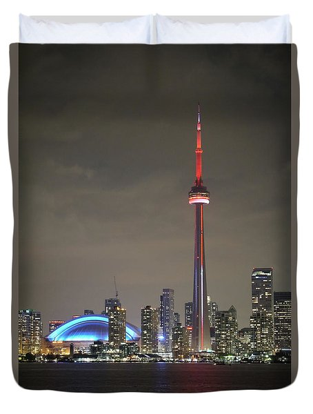 Canadian Landmark Duvet Cover
