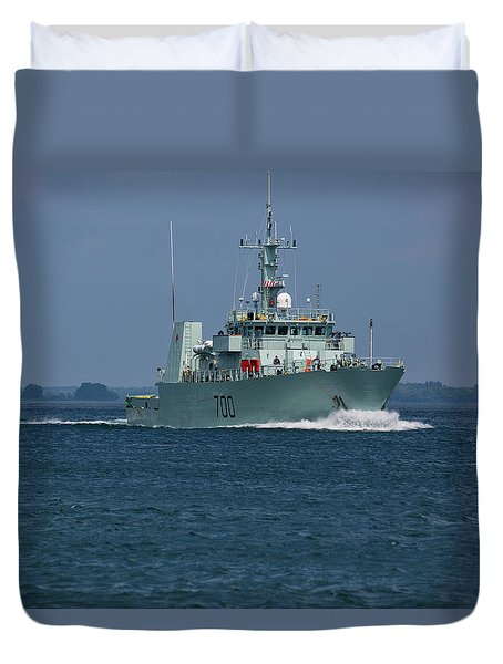 Canadian Navy's Kingston Duvet Cover