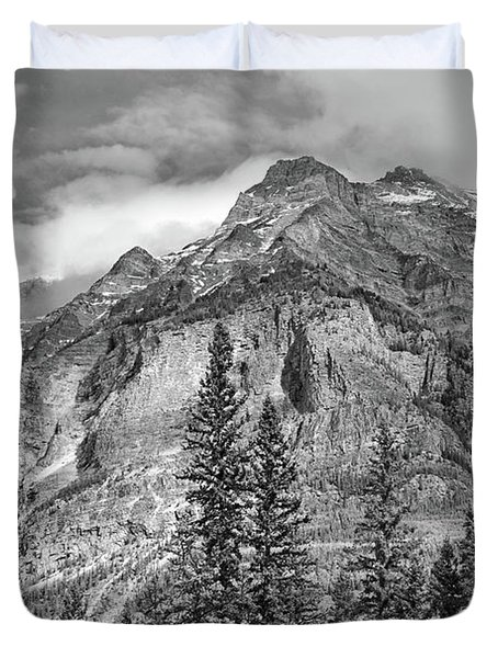 Canadian Rockies No. 2-2 Duvet Cover
