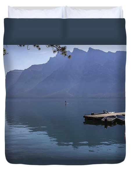 Canadian Serenity Duvet Cover by Angela A Stanton