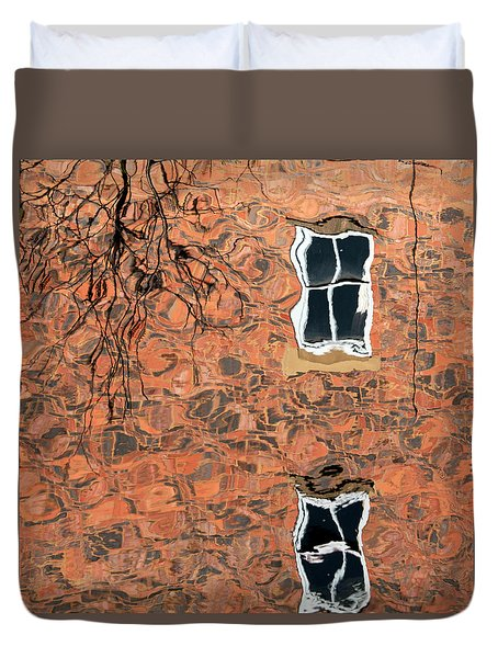 Canal Reflections 1 Duvet Cover