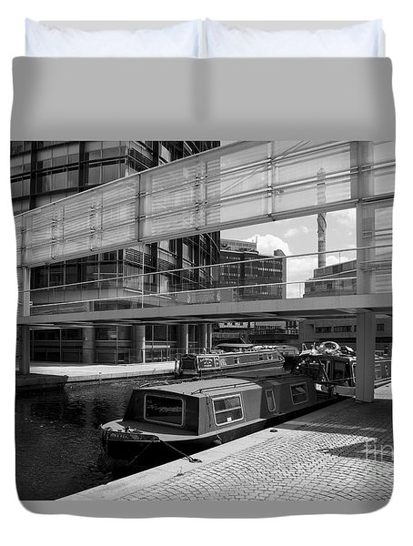 Canals London Duvet Cover