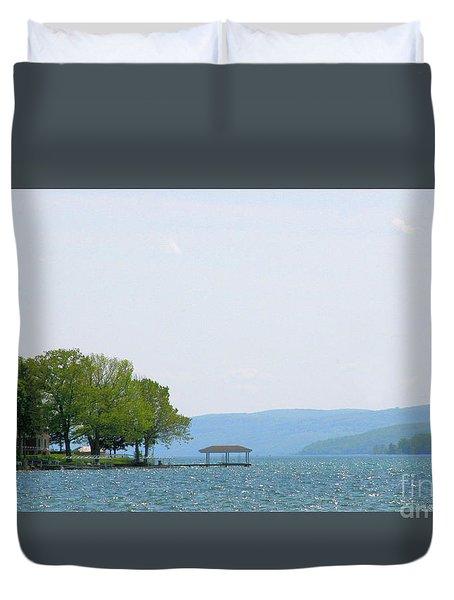 Canandaigua Lake-ii Duvet Cover