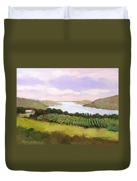 Canandaigua Lake Duvet Cover