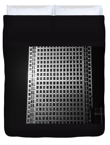 Canary Warf London 2 Duvet Cover