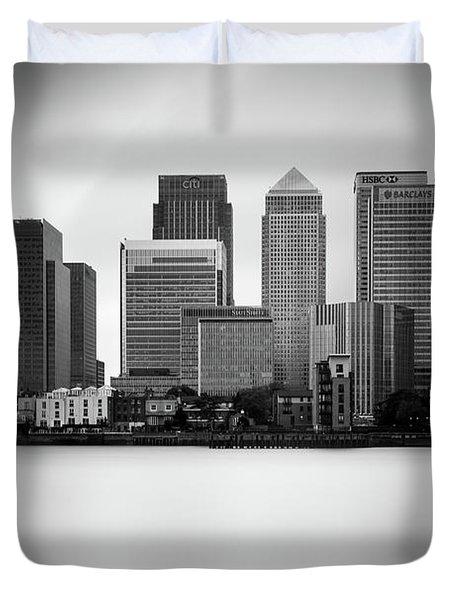 Canary Wharf II, London Duvet Cover