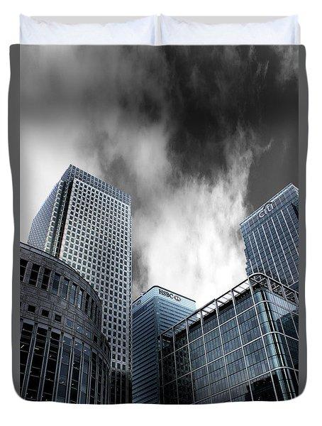 Canary Wharf Duvet Cover