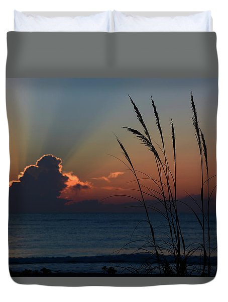 Canaveral Sunrise Duvet Cover