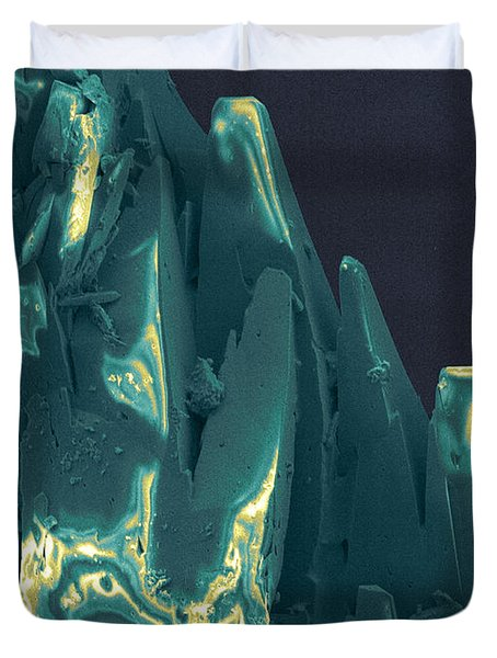 Cancer Research With Nanotechnology, Sem Duvet Cover