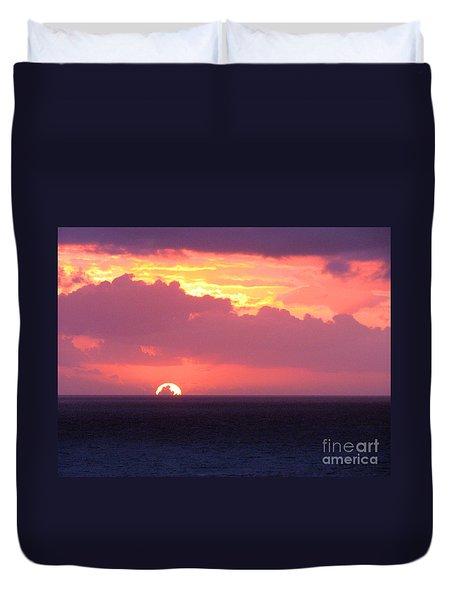 Sunrise Interrupted Duvet Cover