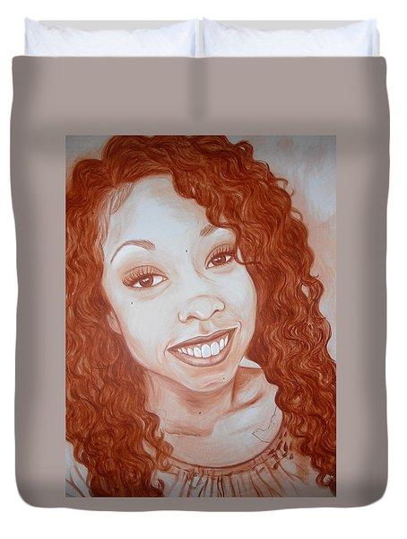Candace Duvet Cover by Jenny Pickens