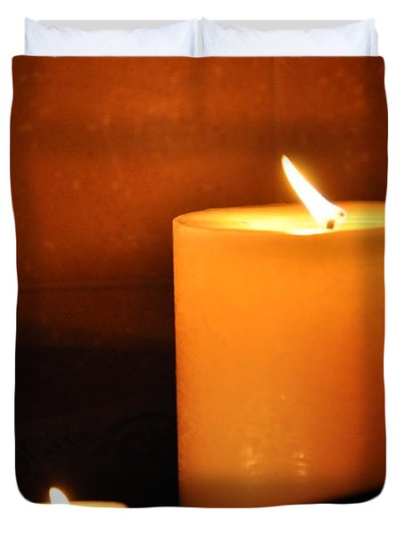 Candlelight Duvet Cover