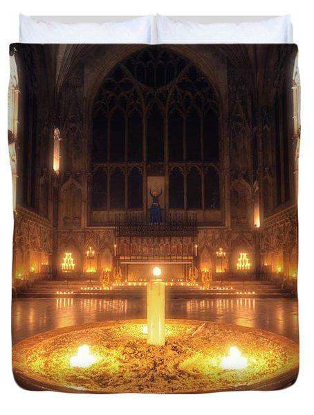 Candlemas - Lady Chapel Duvet Cover