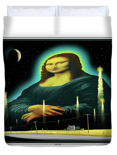 Candles For Mona Duvet Cover