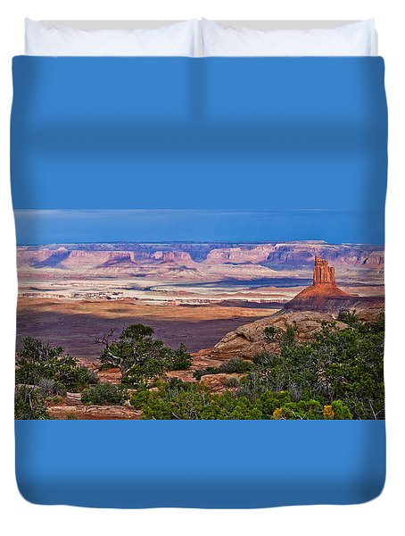 Candlestick Tower Stormlight Panorama Duvet Cover