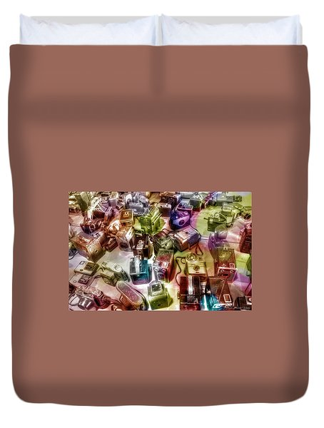 Candy Camera Duvet Cover