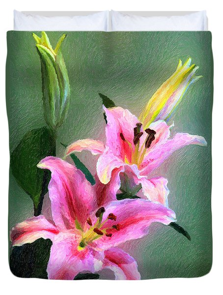 Candy Club Lily Duvet Cover