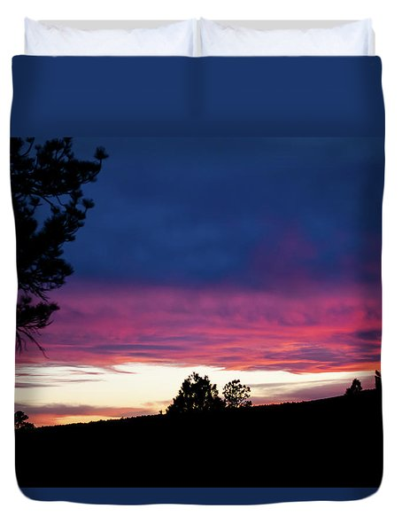 Candy-coated Clouds Duvet Cover