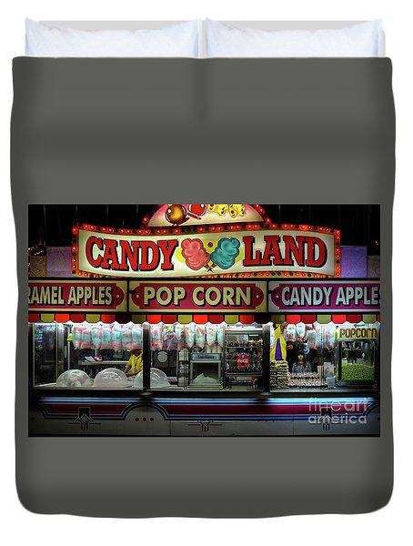 Candy Land Duvet Cover