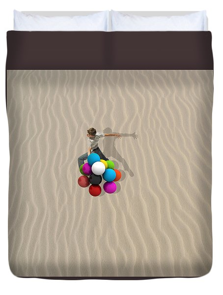 Candy Sand Duvet Cover