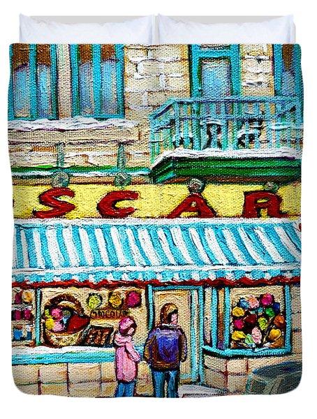 Candy Shop Duvet Cover by Carole Spandau