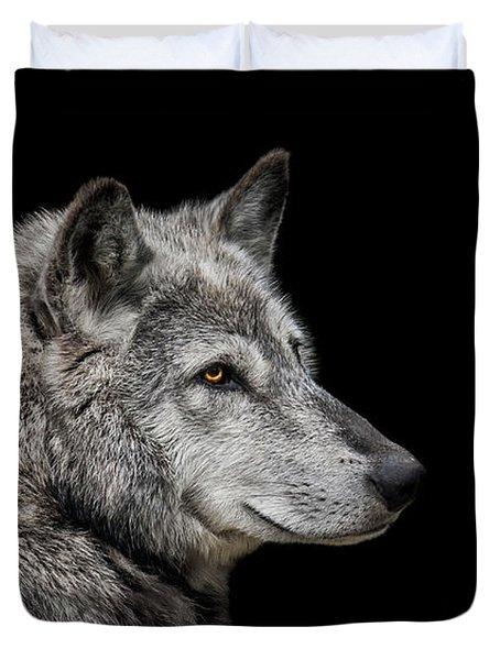 Canis Lupus Duvet Cover