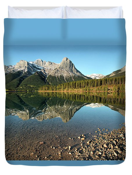 Canmore Reflections Duvet Cover