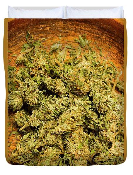 Cannabis Bowl Duvet Cover