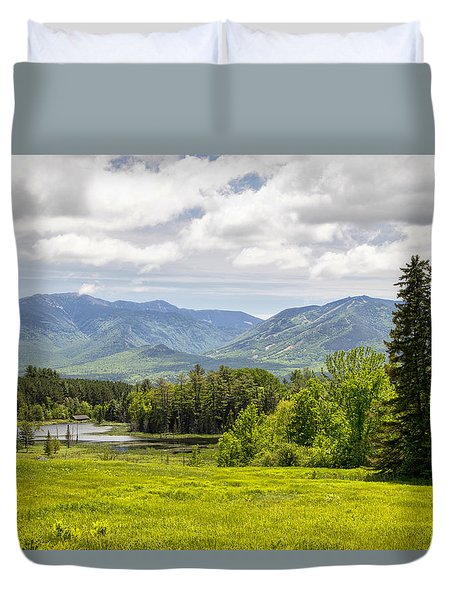 Cannon Mountain  Duvet Cover by Betty  Pauwels