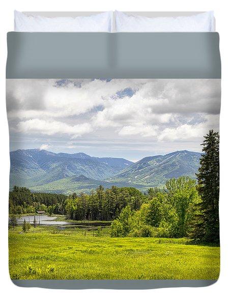 Cannon Mountain  Duvet Cover