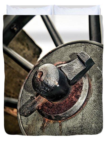 Cannon Wheel Duvet Cover