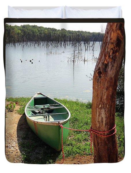 Canoe Duvet Cover