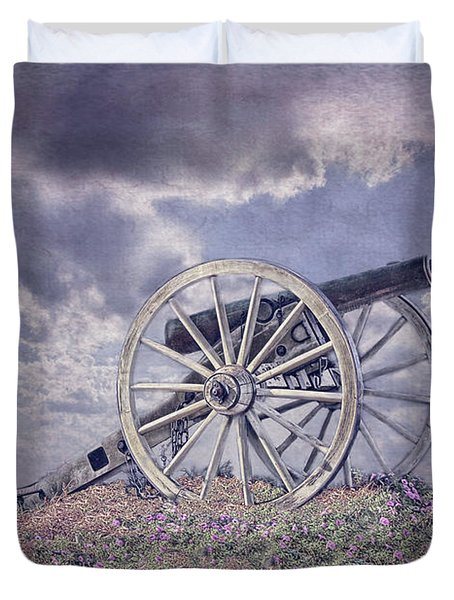 Cannon Of Peace Duvet Cover