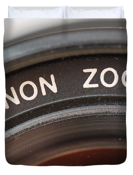 Canon Zoom Duvet Cover