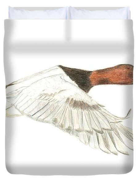 Canvasback Duvet Cover